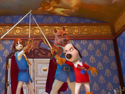 Imagen de 'D'Artacán y los tres mosqueperros'.