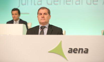El consejero delegado de AENA, José Manuel Vargas