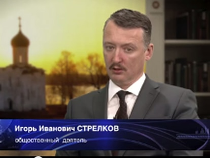 El coronel Strelkov se viste de paisano, pero pronostica guerra
