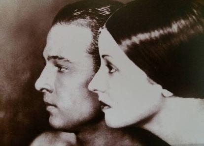 La coleccionista Natacha Rambova y su marido Rodolfo Valentino