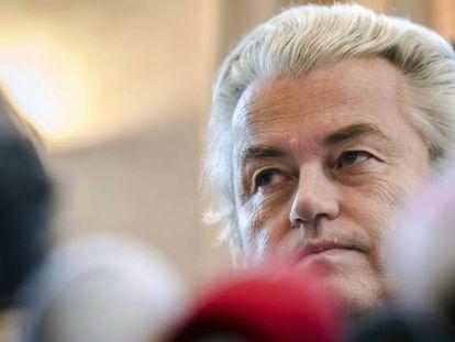 El político holandés, Geert Wilders, en una imagen de noviembre de 2017.