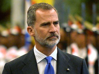 El rey Felipe VI (durante su visita oficial a Cuba el pasado mes de noviembre.