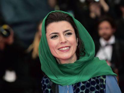 La actriz iraní y miembro del jurado de Cannes Leila Hatami, el 22 de mayo de 2014.