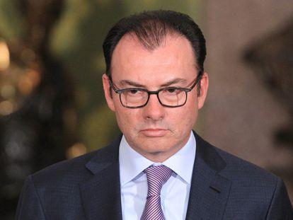 El excanciller Luis Videgaray, en 2015.