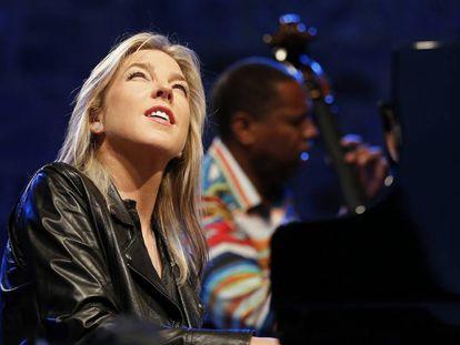 La cantante y pianista canadiense Diana Krall cierra la 51 edición del Festival de Jazz de San Sebastián.