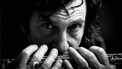 El músico Jorge Pardo.