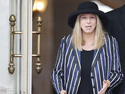 La actriz y cantante Barbra Streisand.