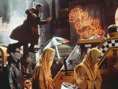 Un fotograma de Blade Runner.