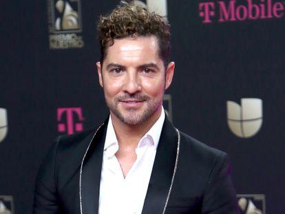 David Bisbal en los premios Lo Nuestro a La Musica Latina en Miami, el pasado febrero.