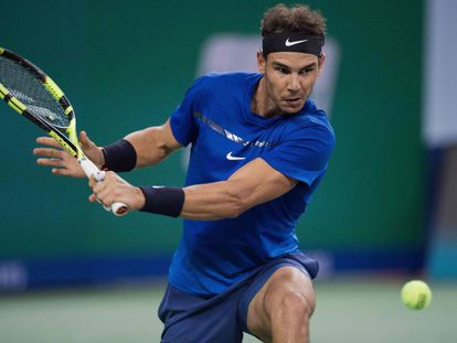 Nadal se enfrentará a Federer en la final del Masters 1000 de Shanghai de este fin de semana