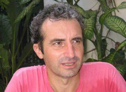 El cineasta Mariano Barroso, creador de la primera <i>web</i> de exhibición de cine realizada en España.