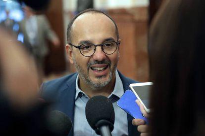 El portavoz del PDeCAT en el Congreso de los Diputados, Carles Campuzano.