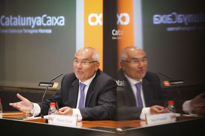 El expresidente de CatalunyaBanc, en una foto de archivo.