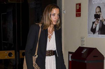 Alejandra Conde durante el estreno del documental 'Mario Conde' en Madrid en octubre de 2015.