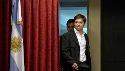 Axel Kicillof, ministro de Economía argentino,.