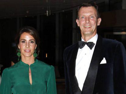 Joaquin y Marie de Dinamarca, en octubre de 2018.