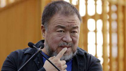 Ai Weiwei, en una imagen del pasado octubre en Nueva York.