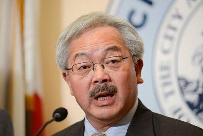 El alcalde de San Francisco, Ed Lee, durante una conferencia de prensa en San Francisco, el pasado enero.
