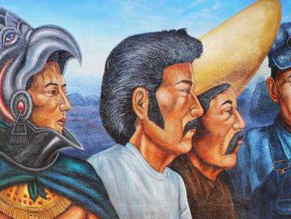 'El proletariado de Aztlán' (1979), del chicano Emigdio Vasquez.