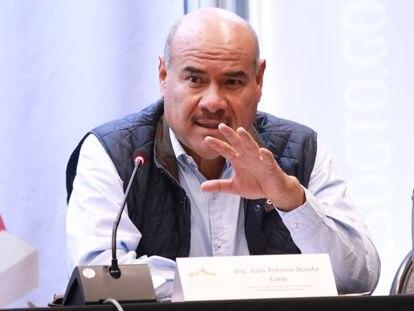 El diputado Juan Antonio Acosta, en una intervención.