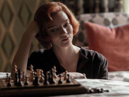 Anya Taylor-Joy, protagonista de 'Gambito de dama'.