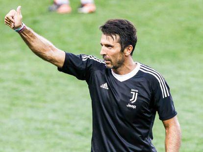 El portero de la Juventus Gianluigi Buffon.