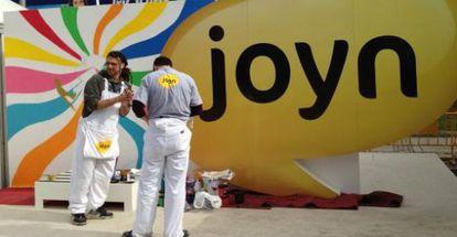 Stand de Joyn en el World Mobile Congress de Barcelona de febrero.