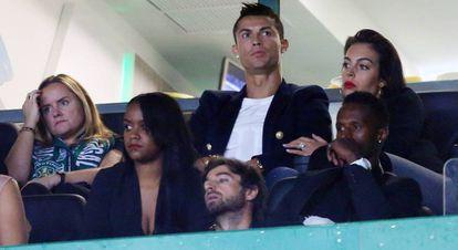 Cristiano Ronaldo y Georgina Rodríguez, el pasado día 16.