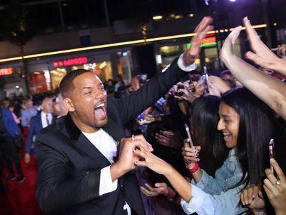 Will Smith en el estreno de 'Géminis', su última película, en Los Ángeles. En vídeo, tráiler de la película.