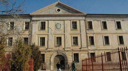 Edificio del Hogar del Comandante Aguado, en Teruel, que albergará el Museo Nacional de Etnografía.