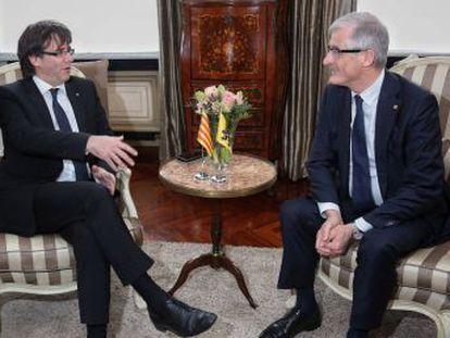 El presidente de la región belga cree que el hecho no tiene precedentes en la historia de la UE.
