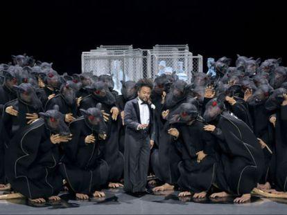 Representación de 'Lohengrin' en el Festival de Bayreuth.