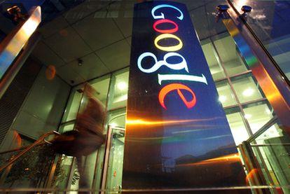 Entrada de la sede central de Google en Dublín (Irlanda).