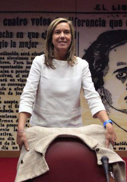 Ana Mato, a su llegada al Senado.