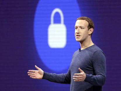 Mark Zuckerberg, presidente ejecutivo de Facebook, en una imagen de mayo de 2018.