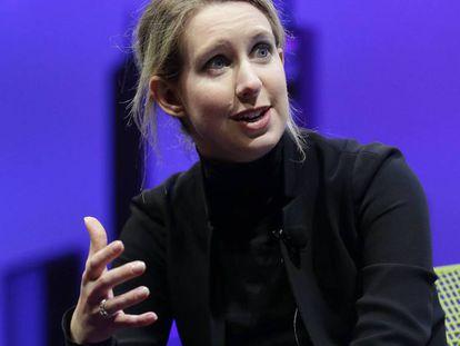 Elizabeth Holmes, fundadora de Theranos.