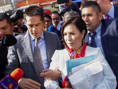 El juez que dictó la prisión preventiva en contra de una exministra de Peña Nieto es pariente de una senadora de Morena
