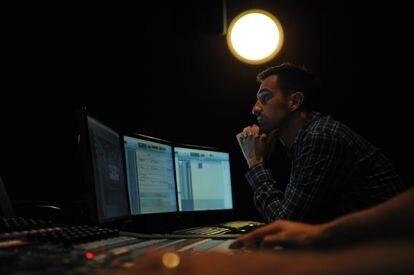 El diseñador de sonido Oriol Tarragó.