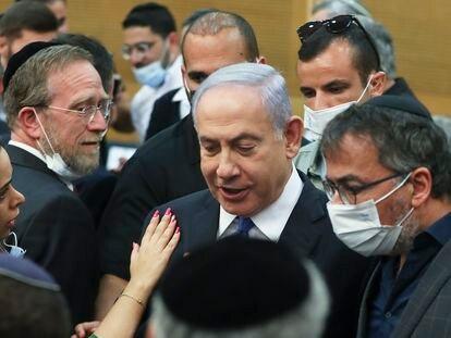 El primer ministro israelí Benjamín Netanyahu, el miércoles en Jerusalén.