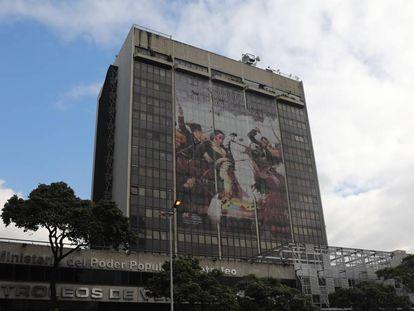 La sede de PDVSA en Caracas, en septiembre de 2019.
