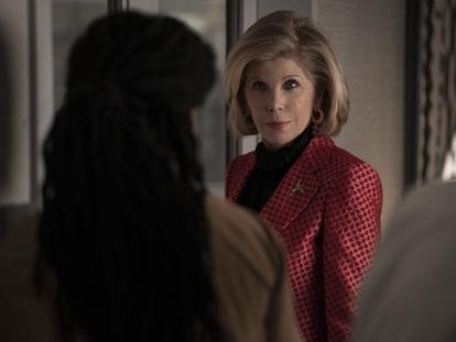 Christine Baranski, en el primer capítulo de la quinta temporada de 'The Good Fight'.