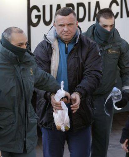 Ioan Clamparu, a su llegada a una de las sesiones del juicio.