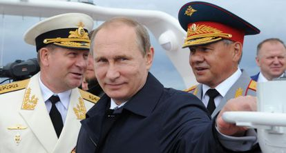 Vladímir Putin en Kaliningrado.