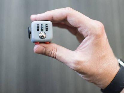 Una de las caras del Fidget Cube, el 'gadget' pensado para aumentar la concentración.
