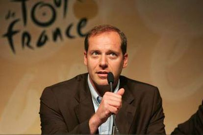 Christian Prudhomme, director del Tour.