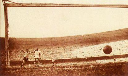El gol del Maracanazo en Brasil 1950.