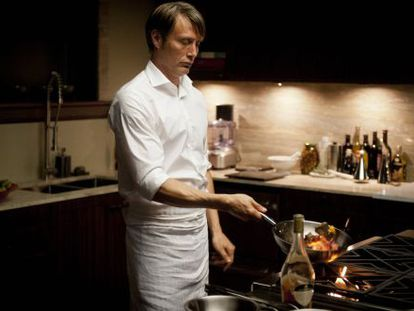 Mads Mikkelsen, en una imagen de la serie Hannibal.
