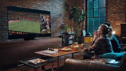Vivir el fútbol en casa como en un estadio