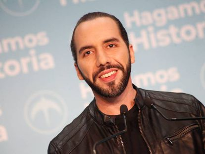 El presidente electo de El Salvador, Nayib Bukele.
