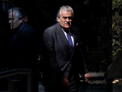 Luis Bárcenas, extesorero del PP, sale de la Audiencia Nacional, el pasado 16 de julio.